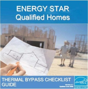Thermal Bypass Checklist Guide Cover Page